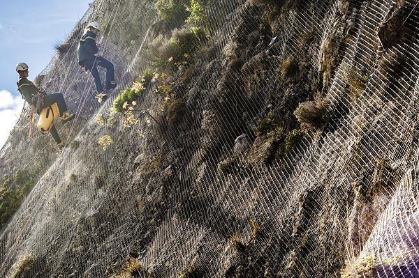Restauration des terrains de montagne